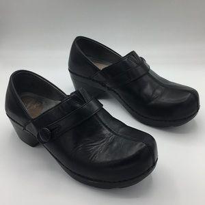 DANSKO Solstice black clogs